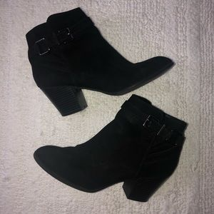 Express Black Ankle Boot
